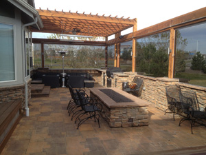 Patio Pavers by Grand View Deck and Patio in Denver